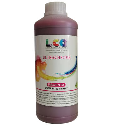 Inchiostro pigmento AQUEOUS 1 LT - Magenta